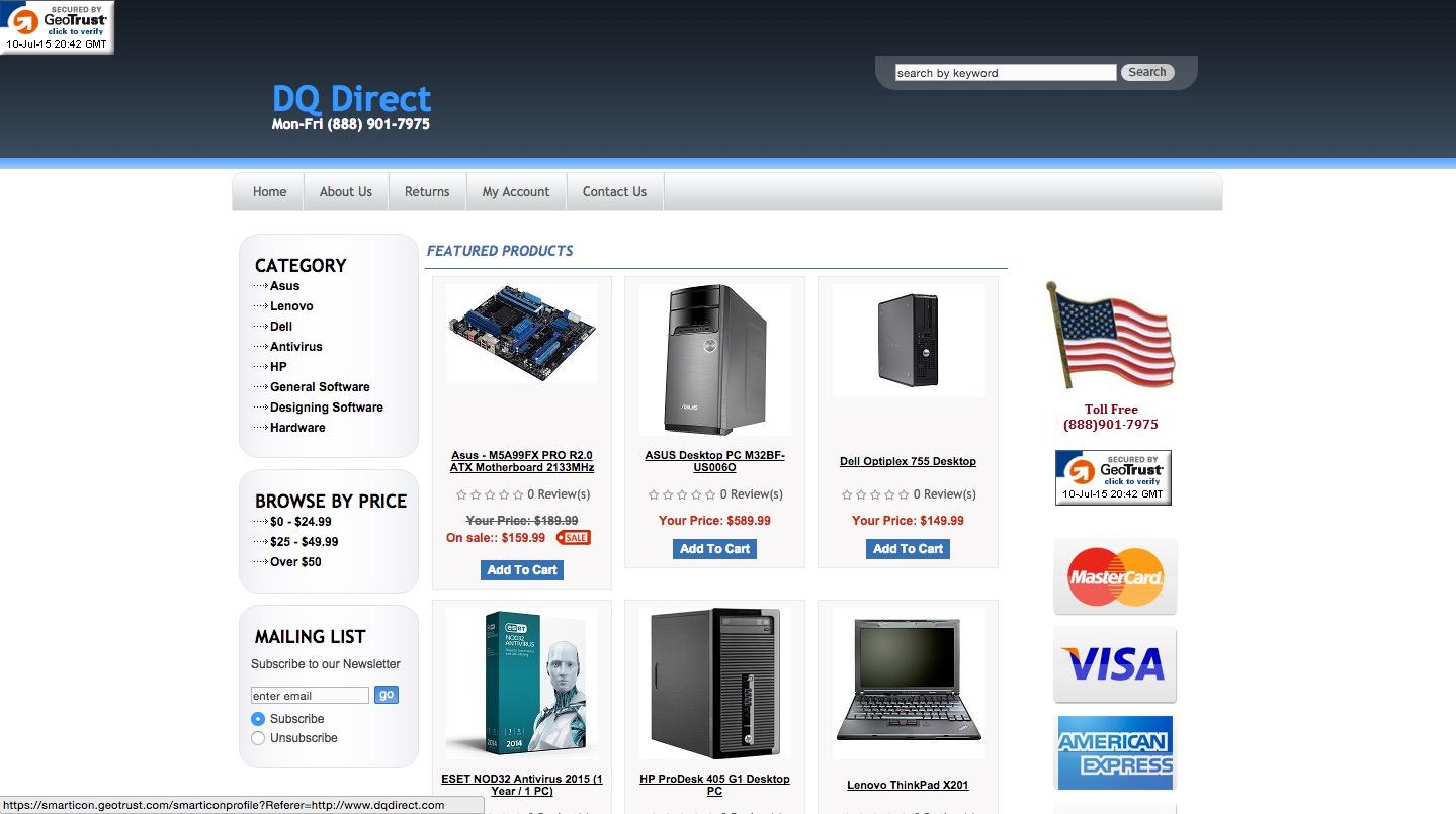 Dqdirect.com