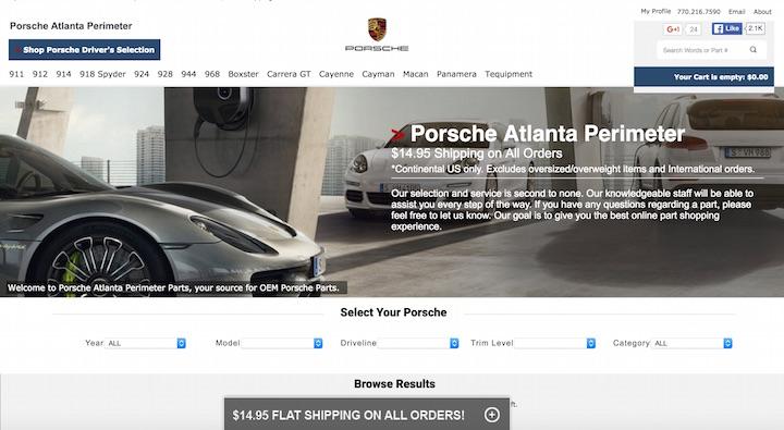 Porsche Atlanta