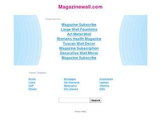 Magazine Wall