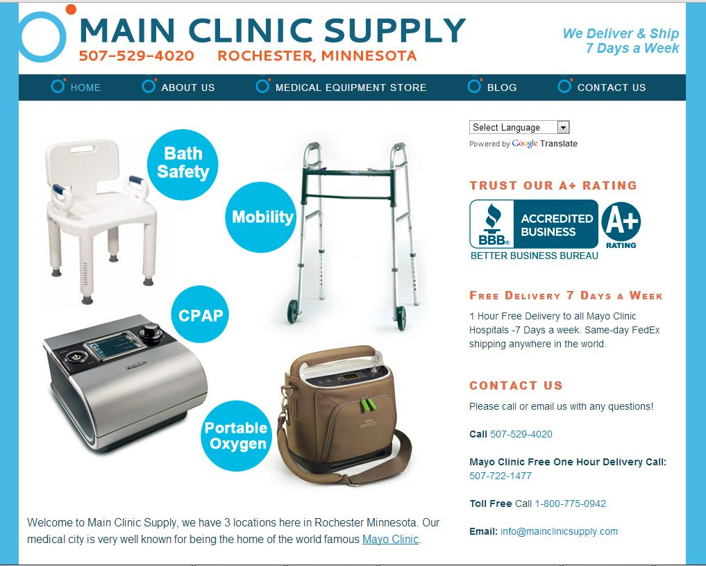 Main Clinic Sup