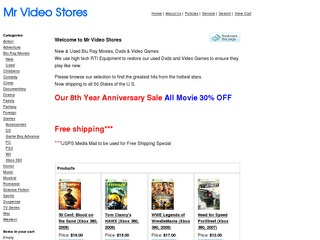 Mr Video Stores